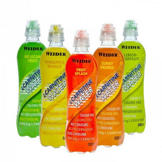 WEIDER L-Carnitine Water 500 ml Mexican fruit